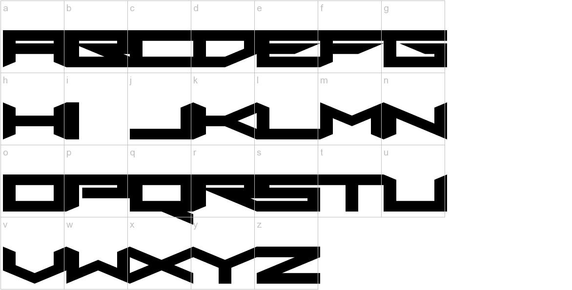 Xero's Proof lowercase