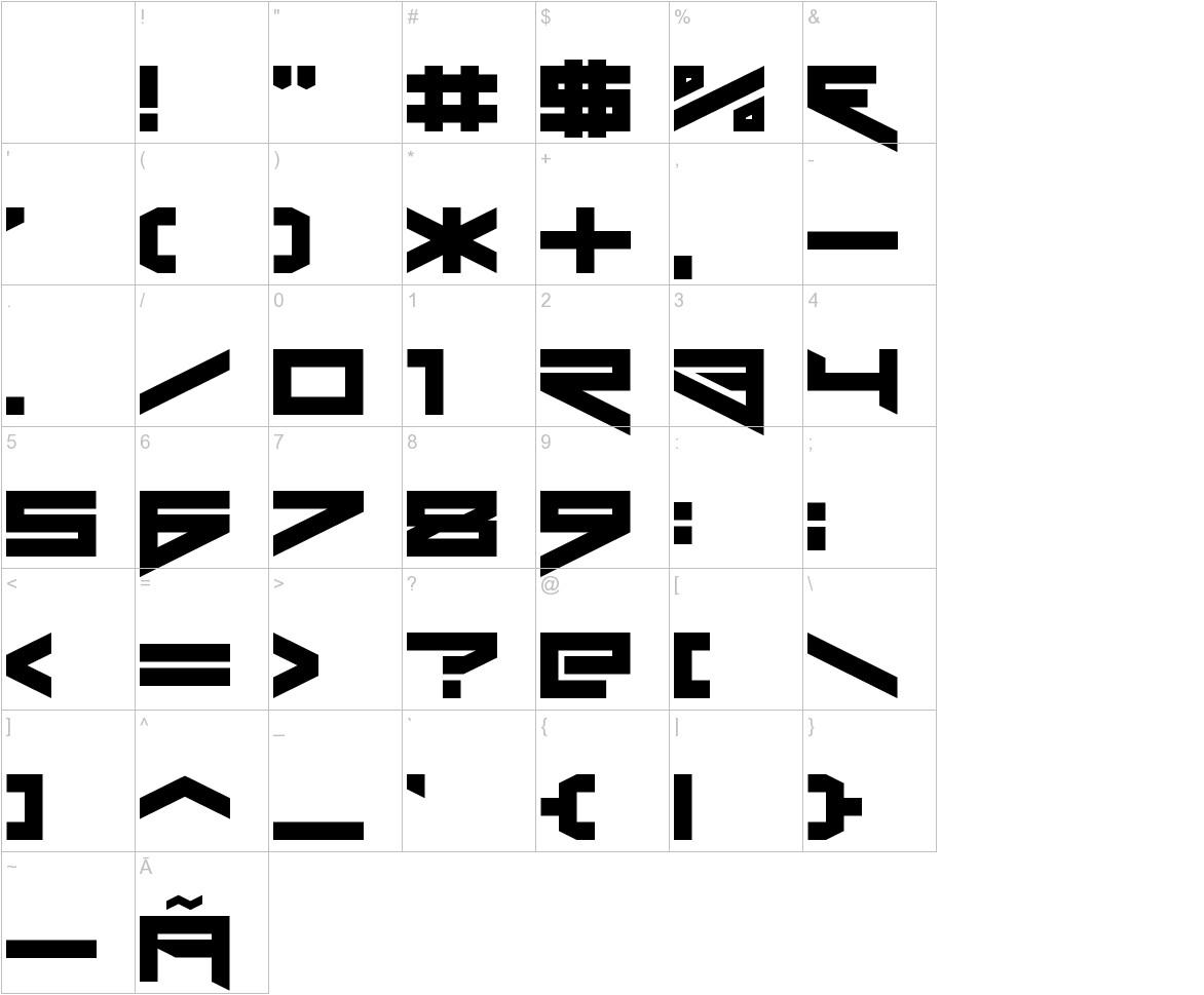 Xero's Theorem characters