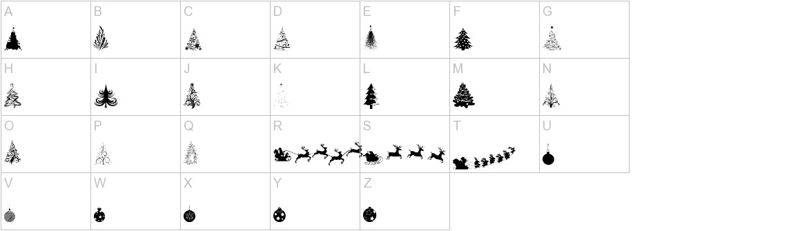 Xmas tfb Christmas uppercase