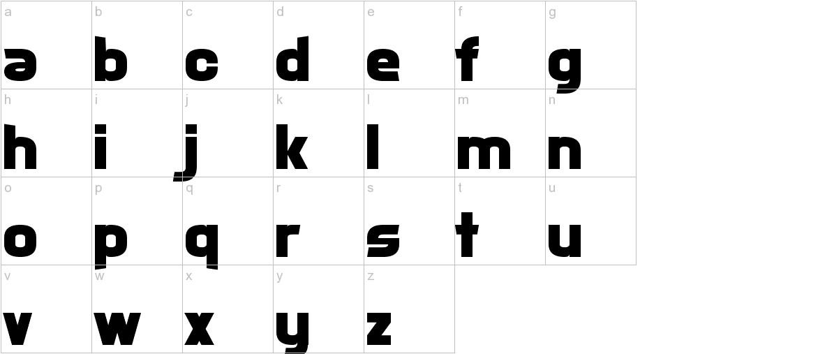 Xsotik lowercase