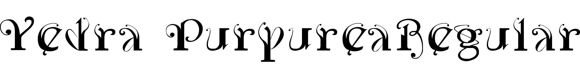 Yedra PurpureaRegular