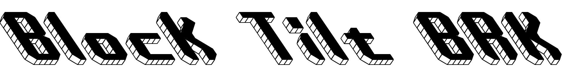 Block Tilt BRK