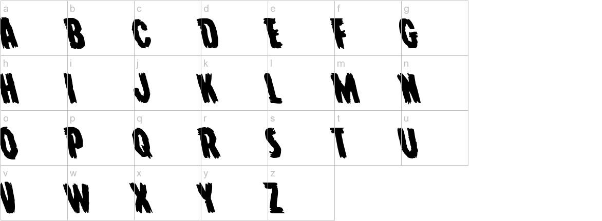 Young Frankenstein Leftalic lowercase
