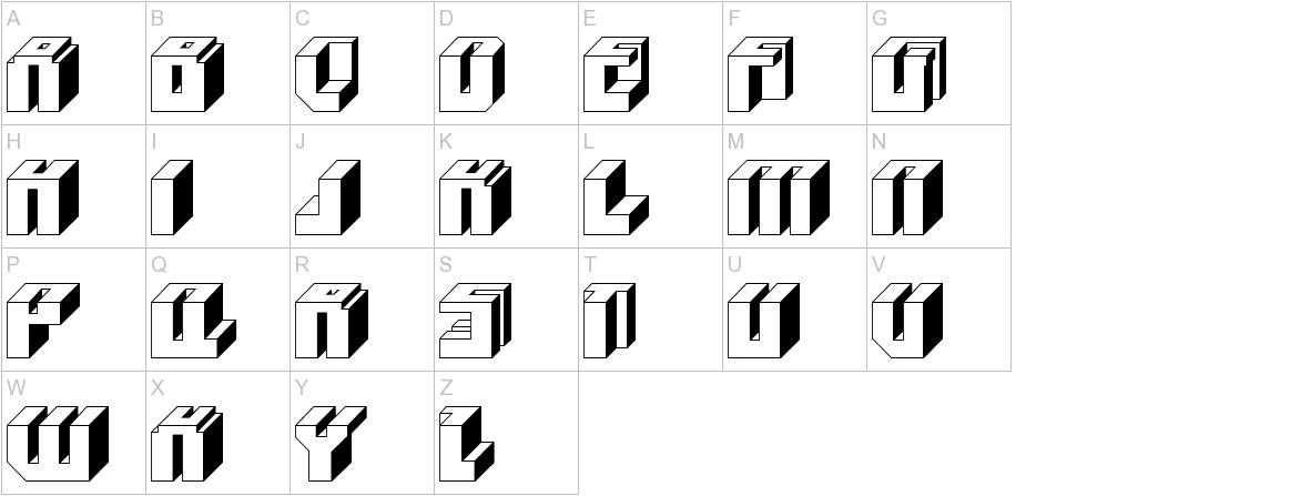 BlockUp uppercase