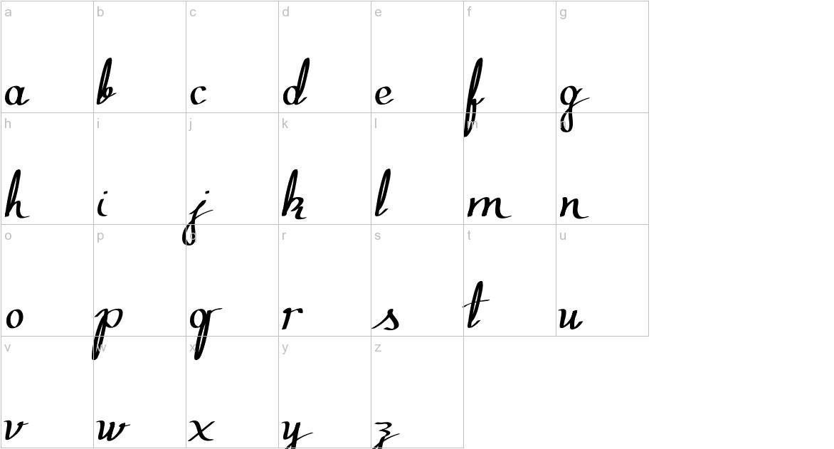 Zephiroth lowercase
