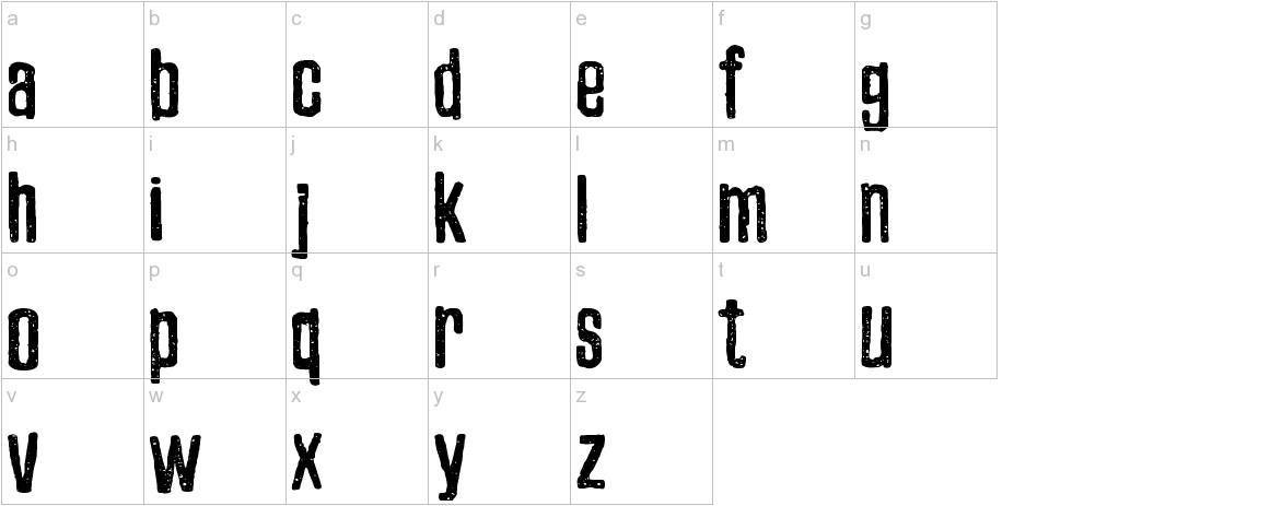 Zubajda Dt lowercase