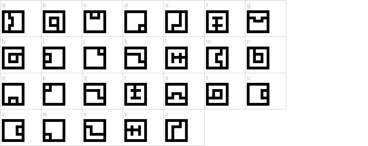 Zuish lowercase