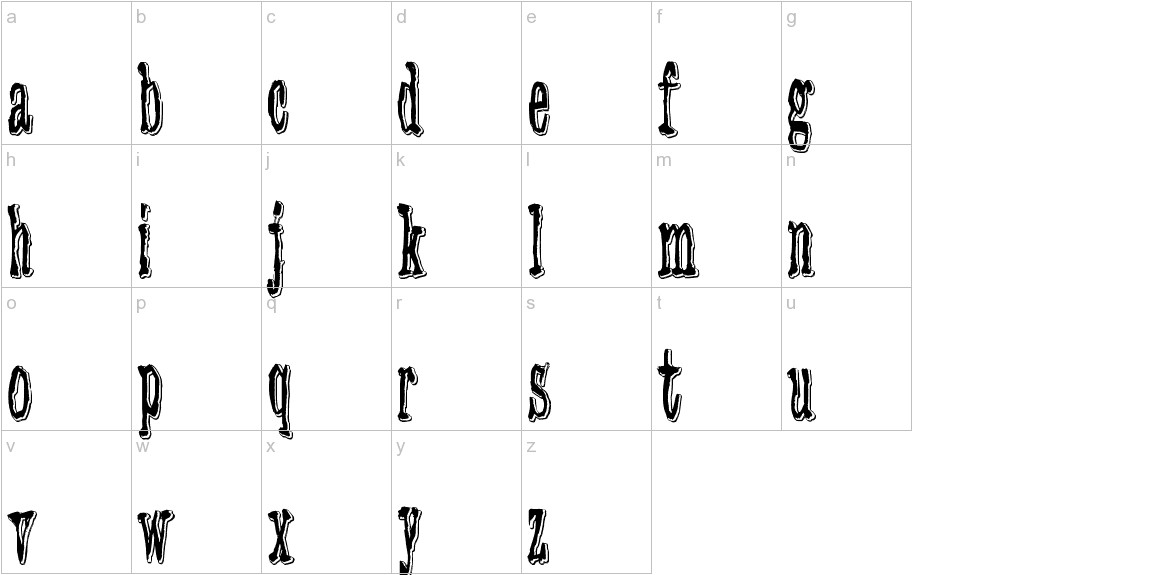 3 Times Recycled Old Newspaper lowercase