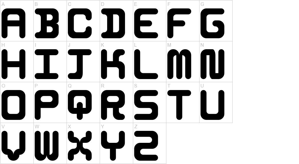5Identification Mono uppercase