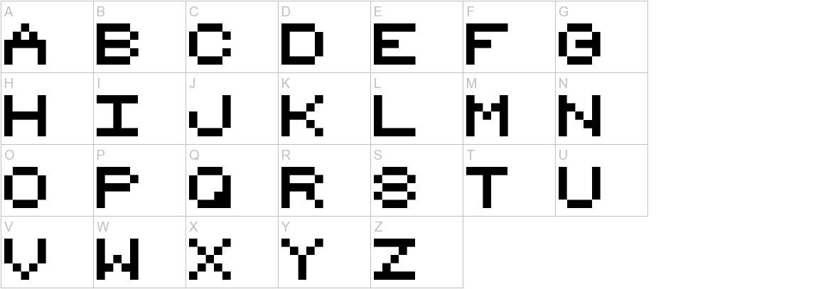8_bit_1_6 uppercase