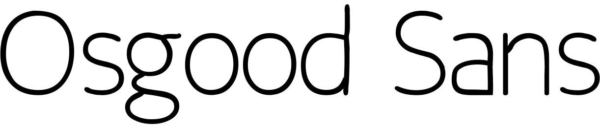 Osgood Sans