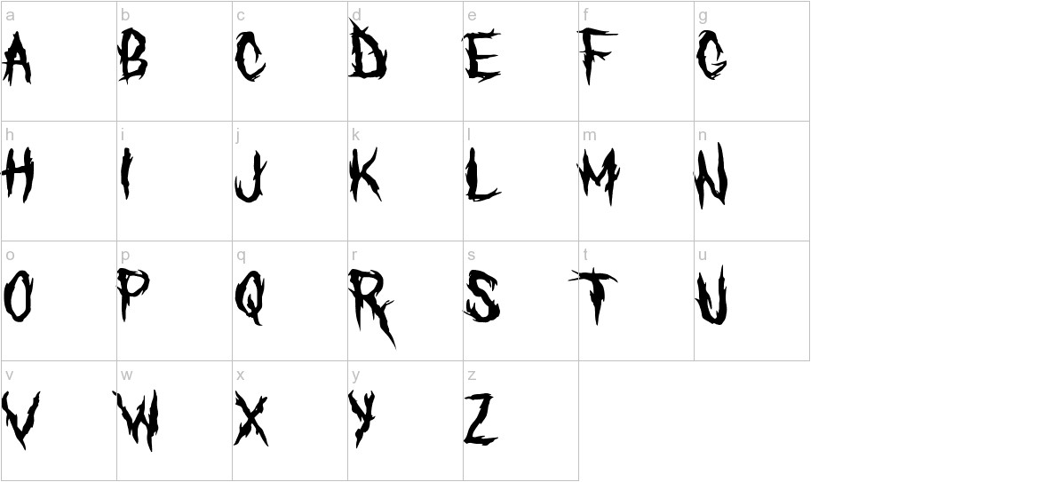 The Defiler lowercase