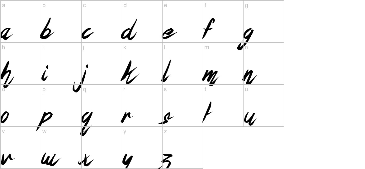 The Oyster Bar lowercase