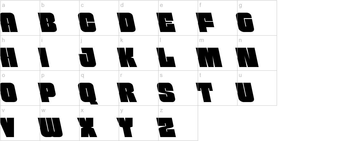 Funk Machine Leftalic lowercase