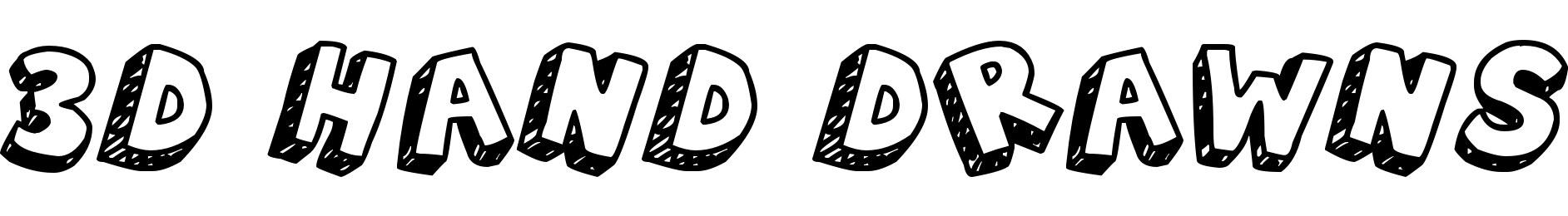 3D Hand Drawns