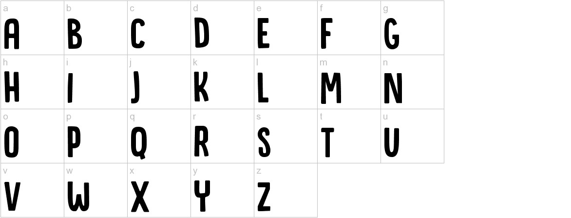 DK Canoodle Regular lowercase