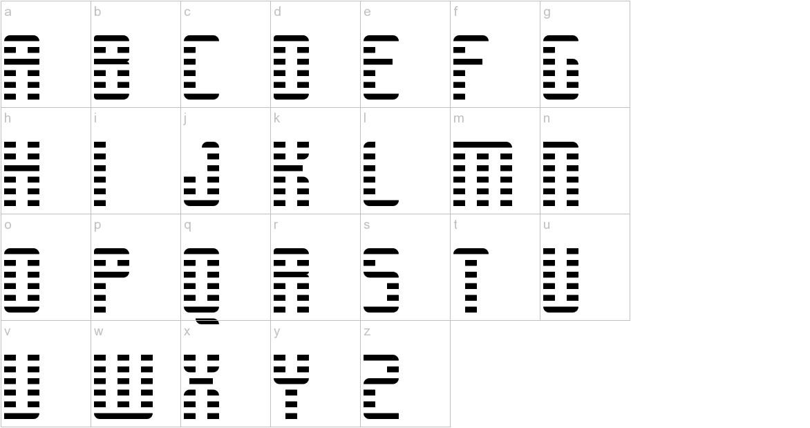 RETROSYNTHWAVE Regular lowercase