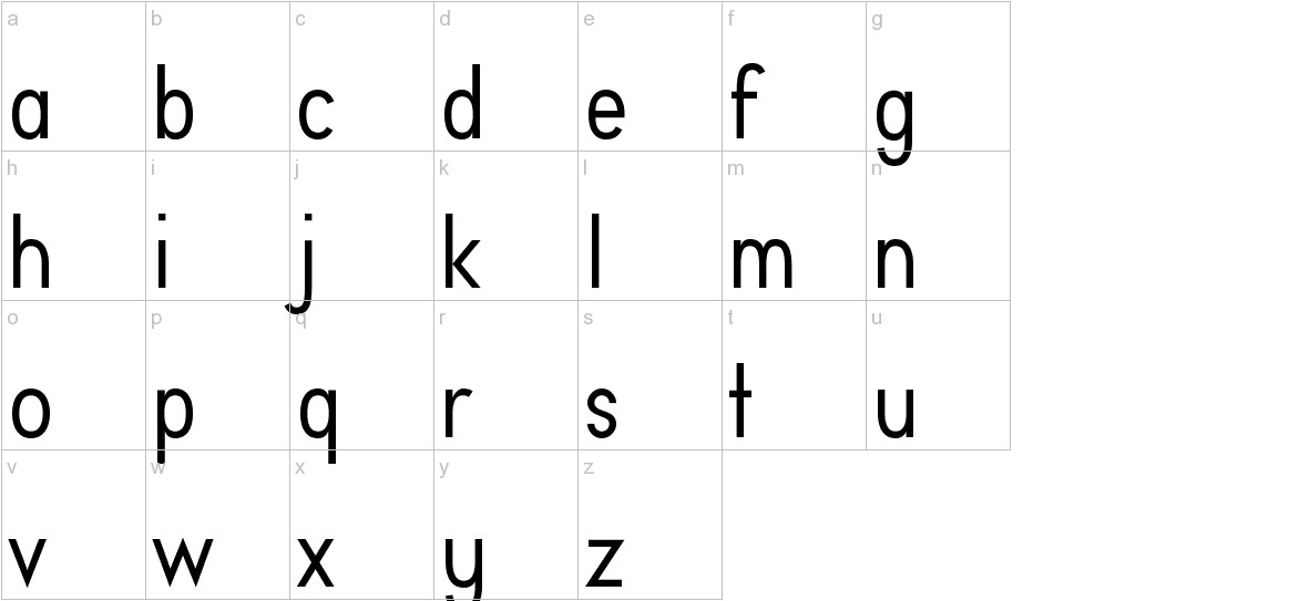 Aprikas Regular Demo lowercase