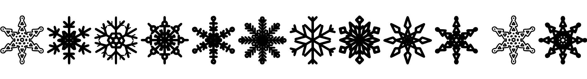 Snowflakes St