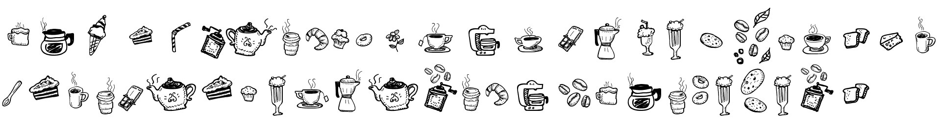 Doodle Coffee Scents