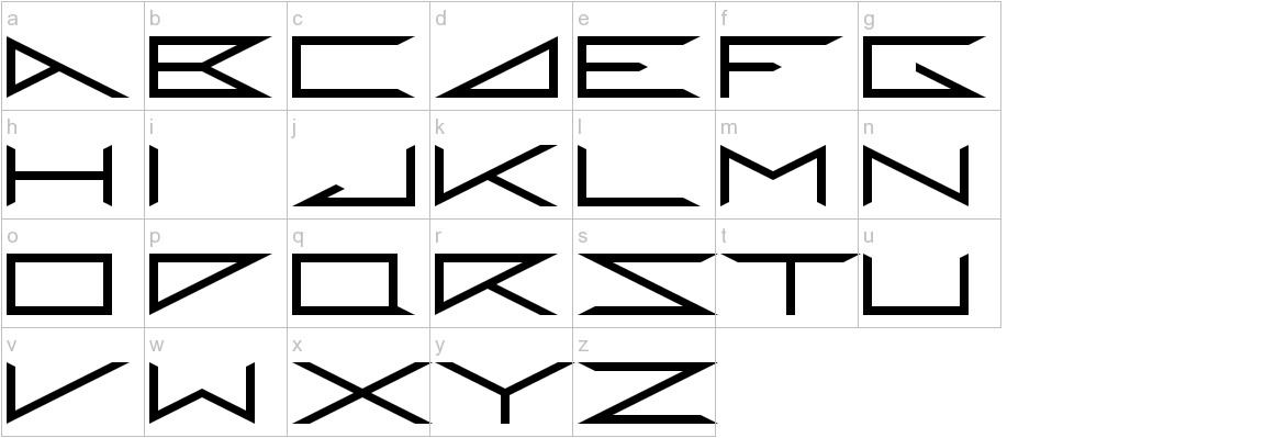 RANDOM_DM Regular lowercase