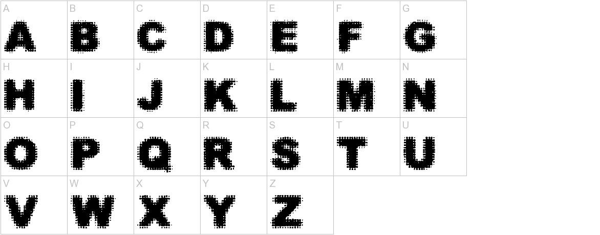 Simple Myopia uppercase