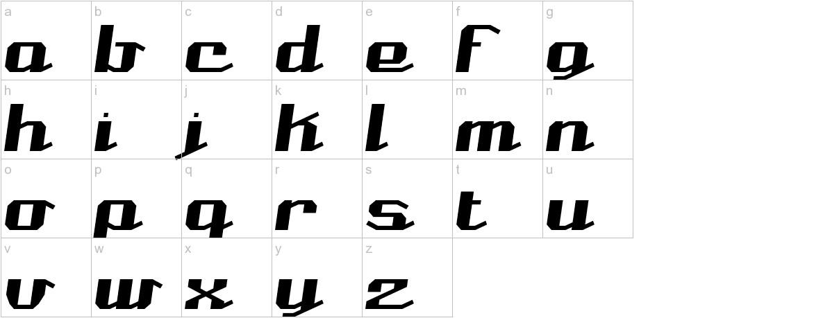 Nominal BRK lowercase