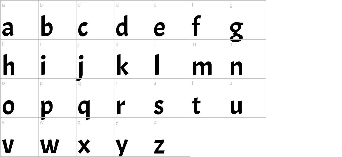 Acme lowercase