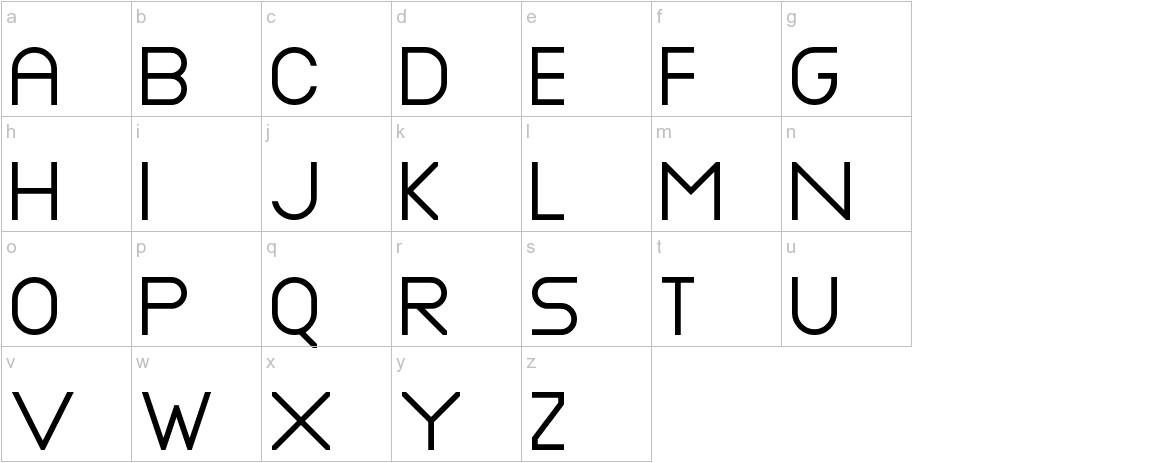 Nottke lowercase