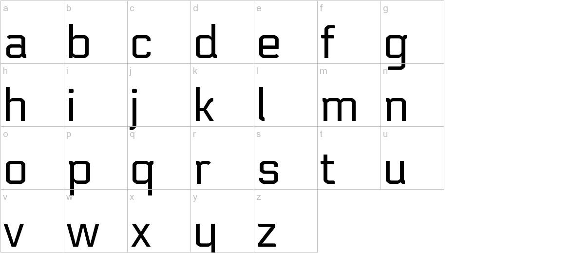 Electrolize lowercase
