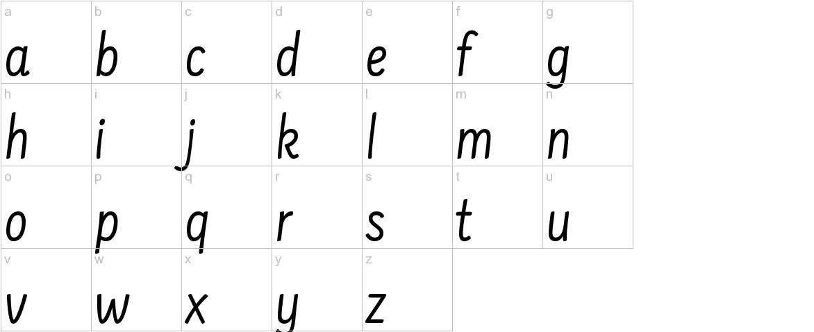 Farsan lowercase