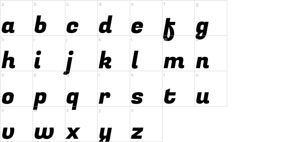 Fugaz One lowercase
