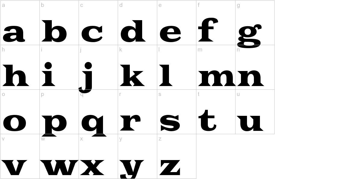 Goblin One lowercase