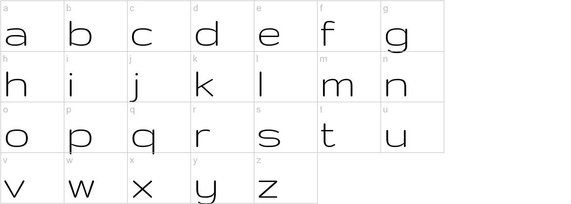 Gruppo lowercase