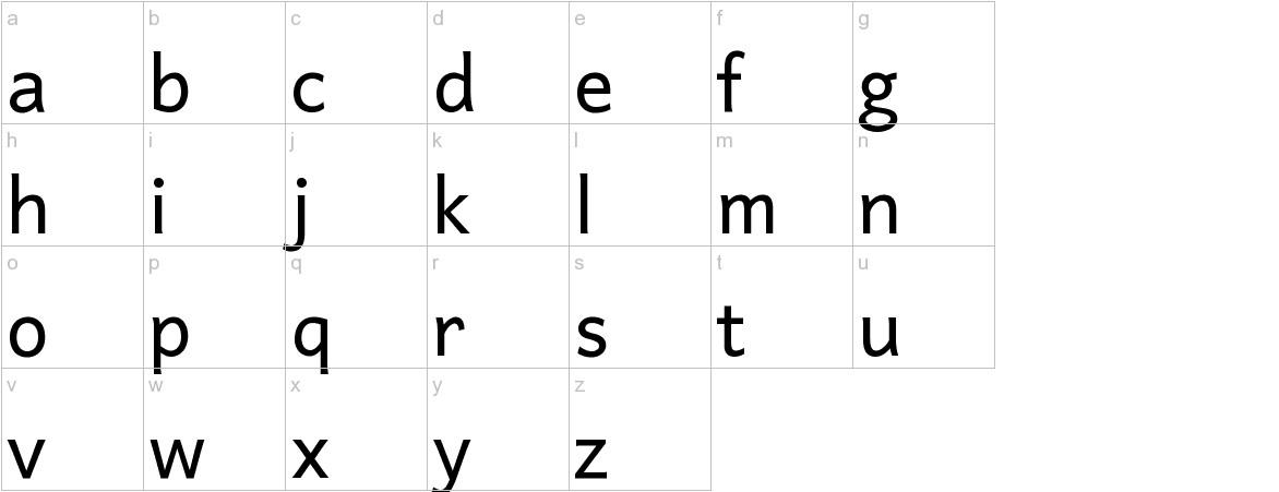 Harmattan lowercase