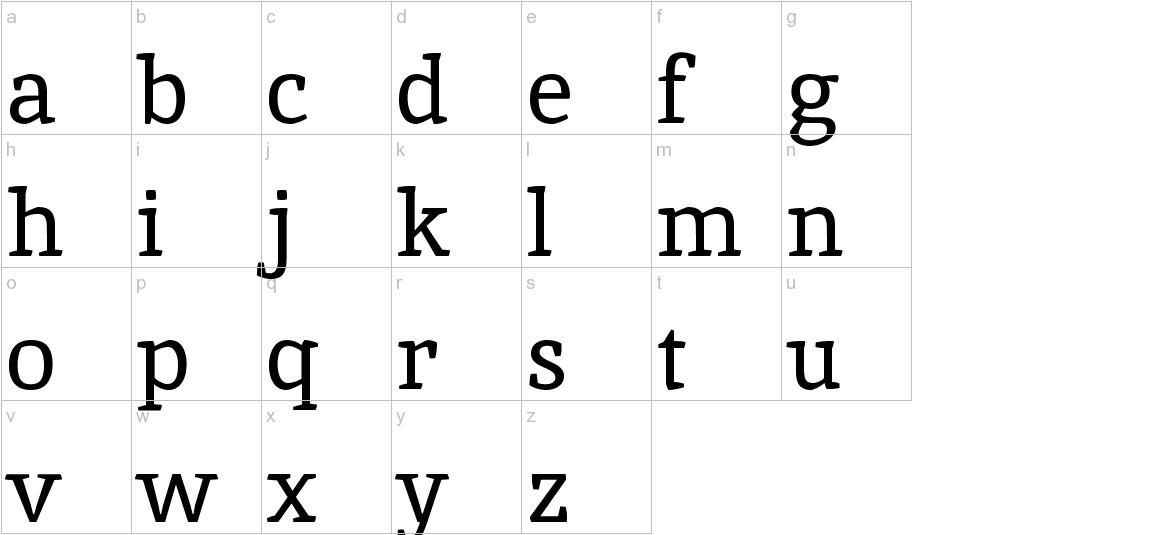 Inika lowercase