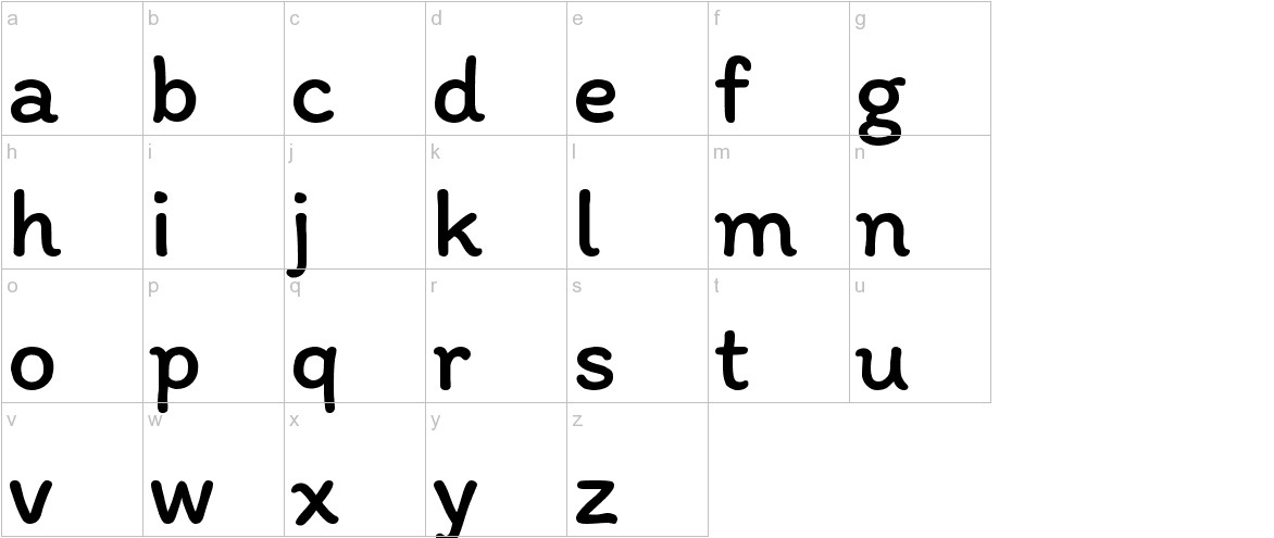 Itim lowercase