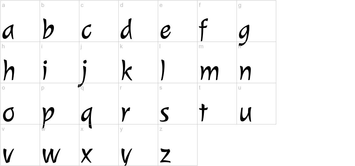 Julee lowercase