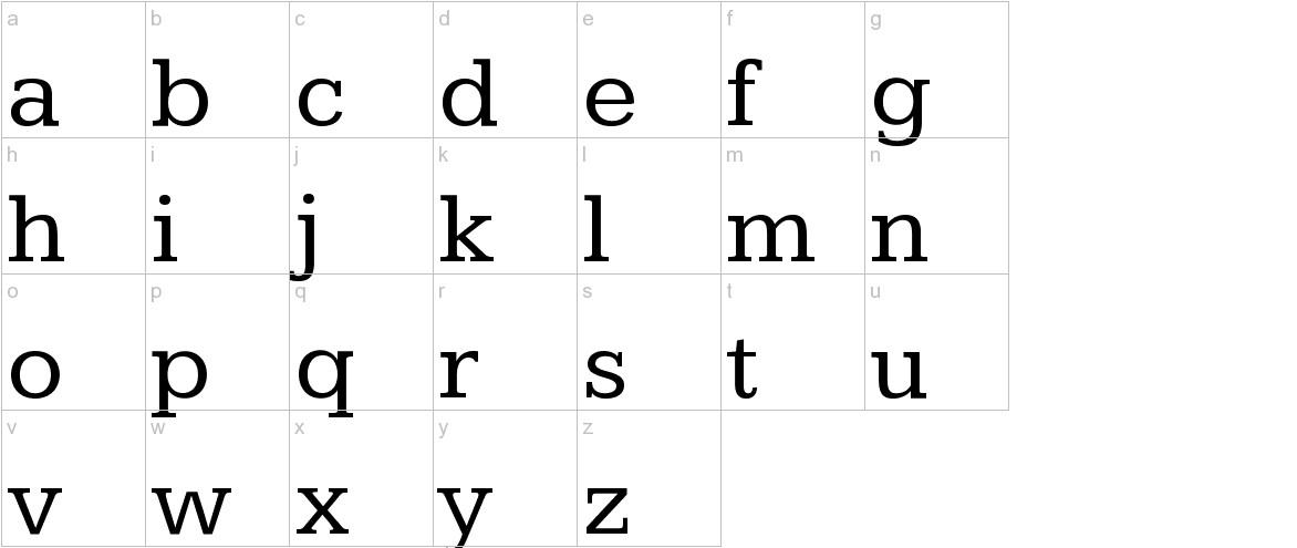 Kameron lowercase