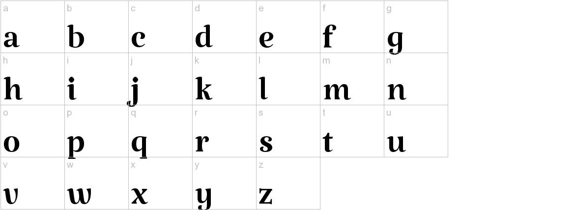 Katibeh lowercase