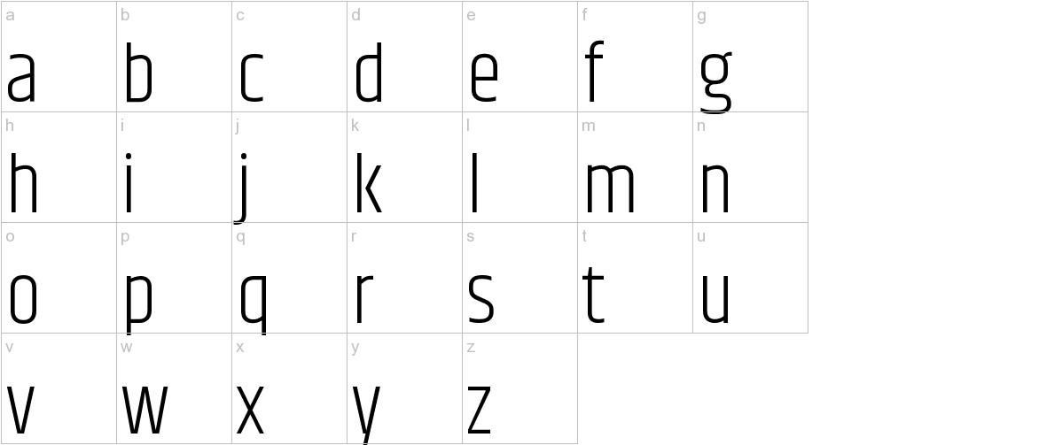 Khand lowercase