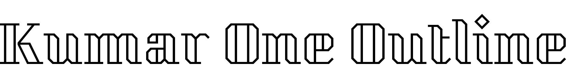 Kumar One Outline
