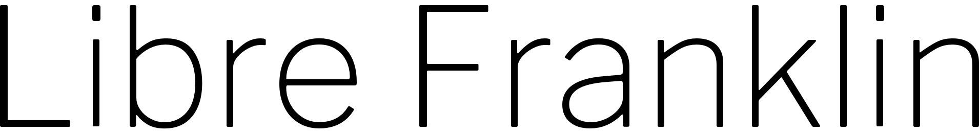 Libre Franklin