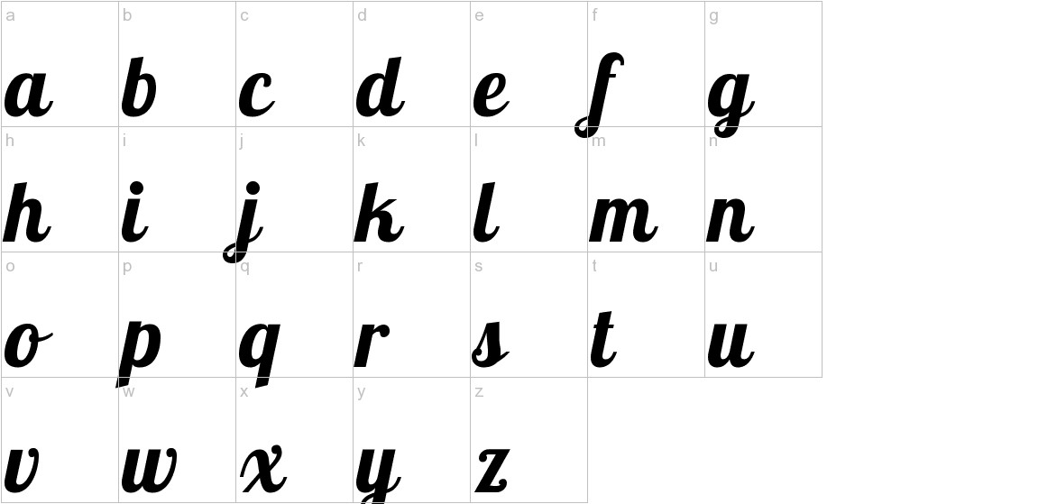 Lobster lowercase