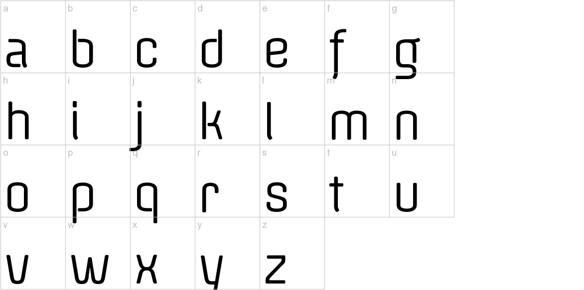 Offside lowercase