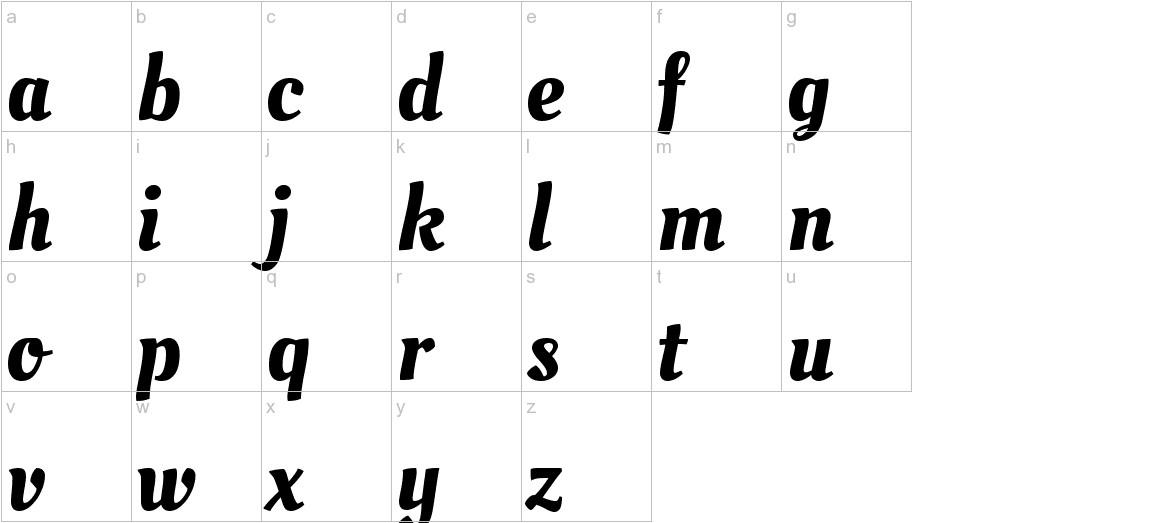 Oleo Script Swash Caps lowercase