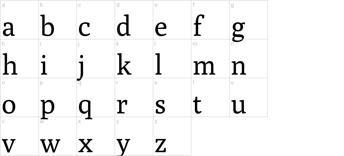 Poly lowercase