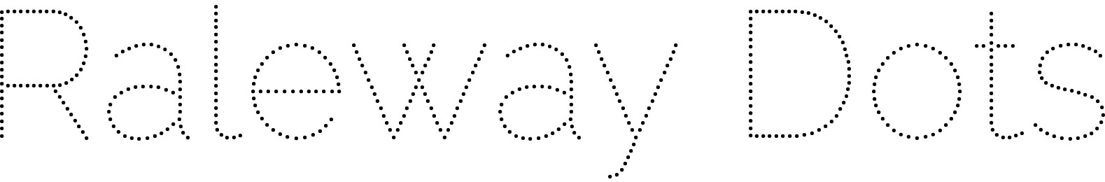 Raleway Dots
