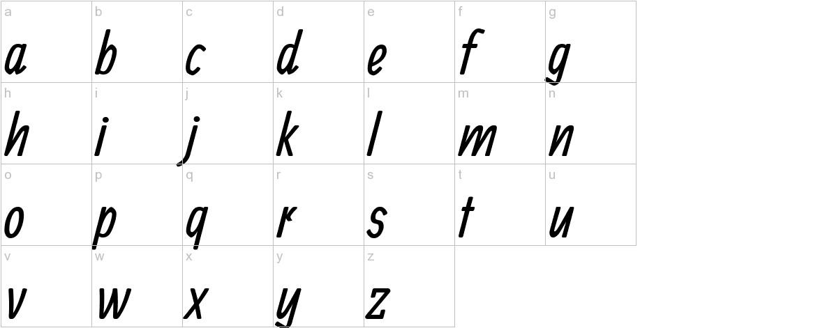 Ranga lowercase