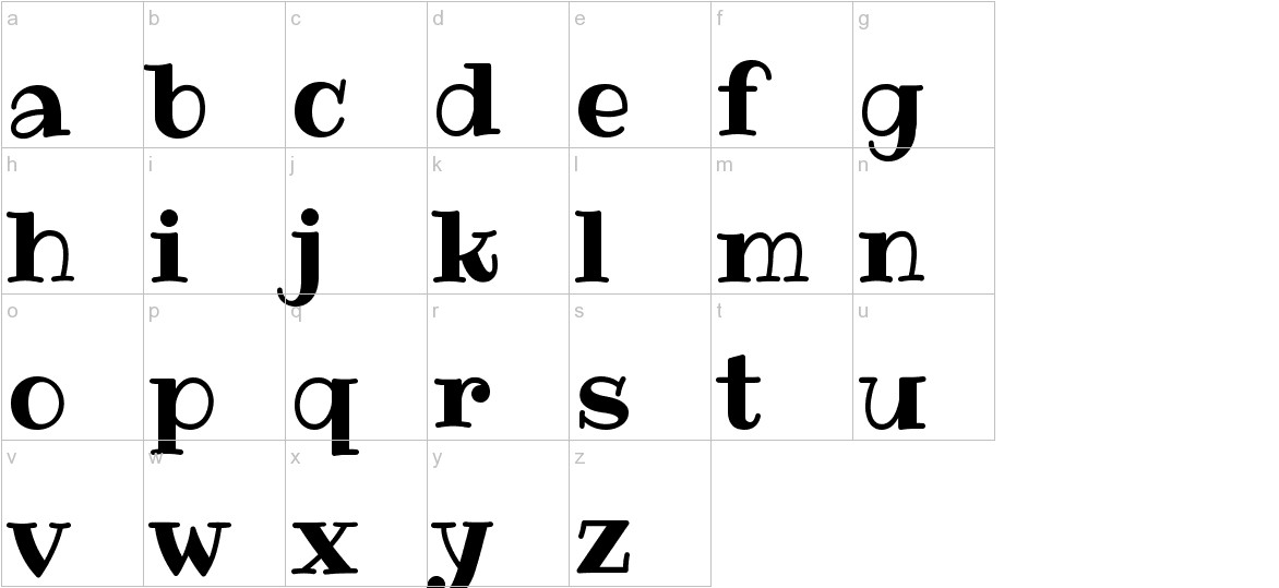 Ribeye lowercase